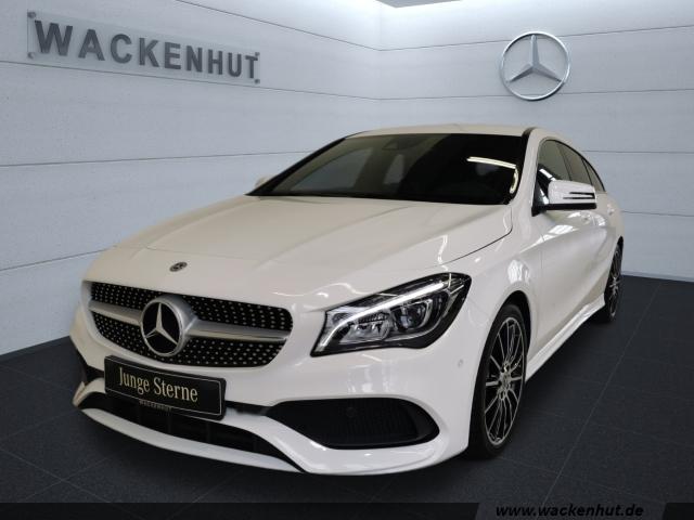Mercedes-Benz CLA 180 Shooting Brake AMG PEAK AHK+LED+NAVI+KAM, Jahr 2018, Benzin