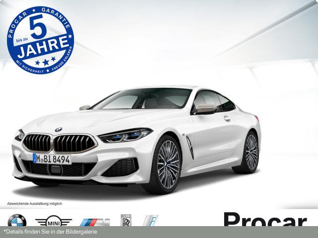 BMW M850i xDrive Coupe Laserlicht H/K DAB Soft-Close, Jahr 2019, petrol