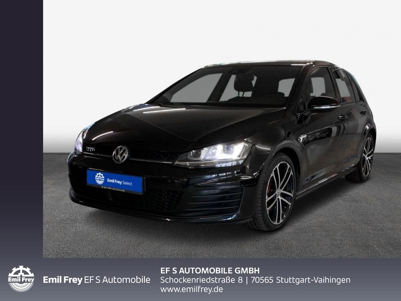 Volkswagen Golf GTD Navi, Panorama, AHK, Xenon, DCC, Sport & Sound,, Jahr 2016, Diesel
