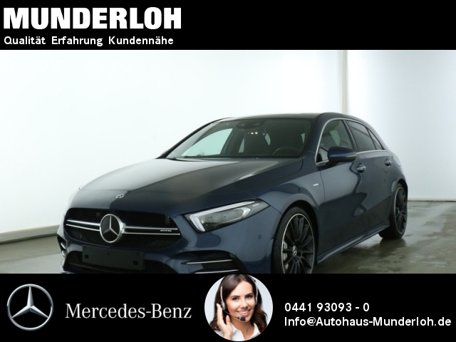 Mercedes-Benz AMG A 35 4MATIC Panorama Standheizung, Jahr 2018, Benzin