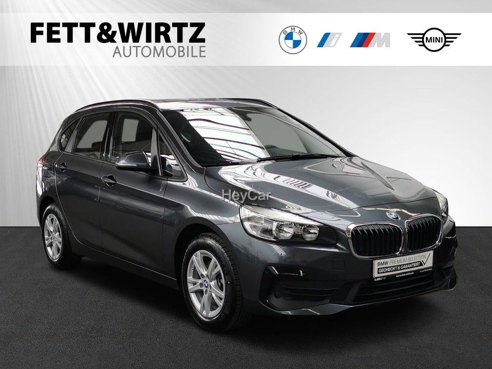 BMW 216 Active Tourer Adv Aut.Heckkl. SHZ Parkass., Jahr 2019, Diesel