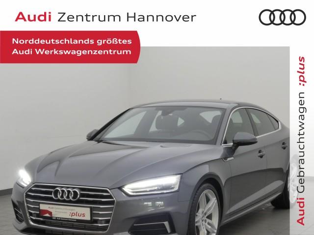 Audi A5 Sportback Sport 35 TFSI Leder AHK Navi DAB Xenon, Jahr 2019, Benzin