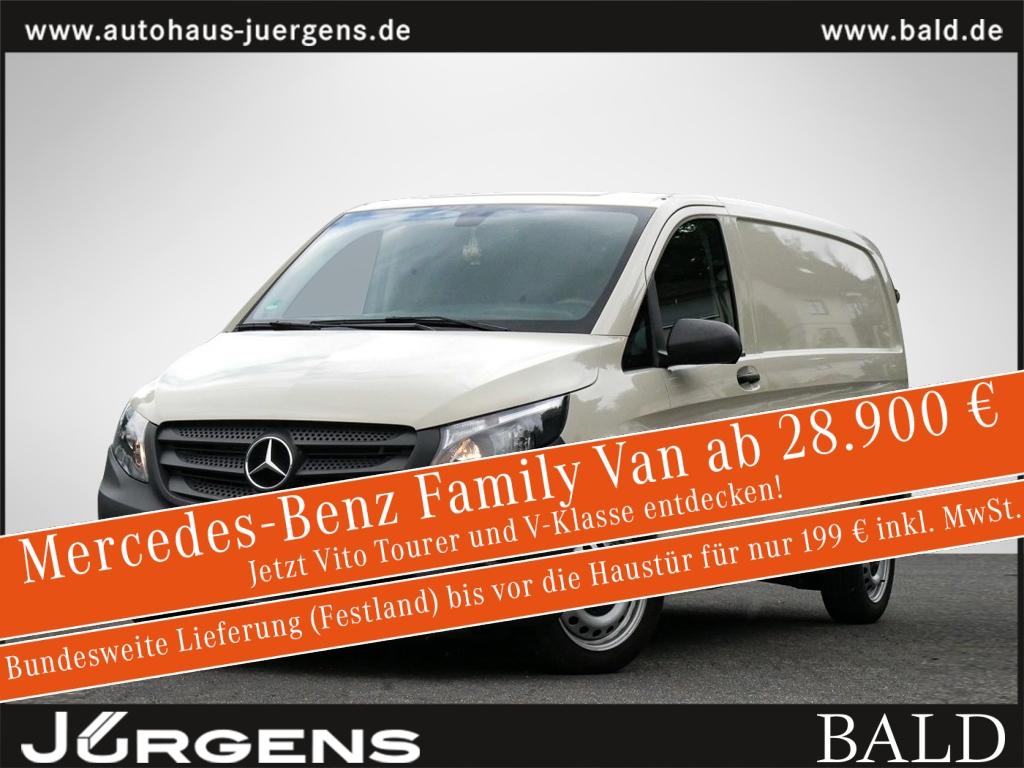 Mercedes-Benz Vito 111 CDI Kasten kompakt Klima AHK Navi, Jahr 2017, Diesel