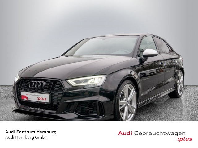 Audi RS3 Limousine 2,5 TFSI quattro S tronic NAVI SPORTABGAS LED, Jahr 2018, Benzin