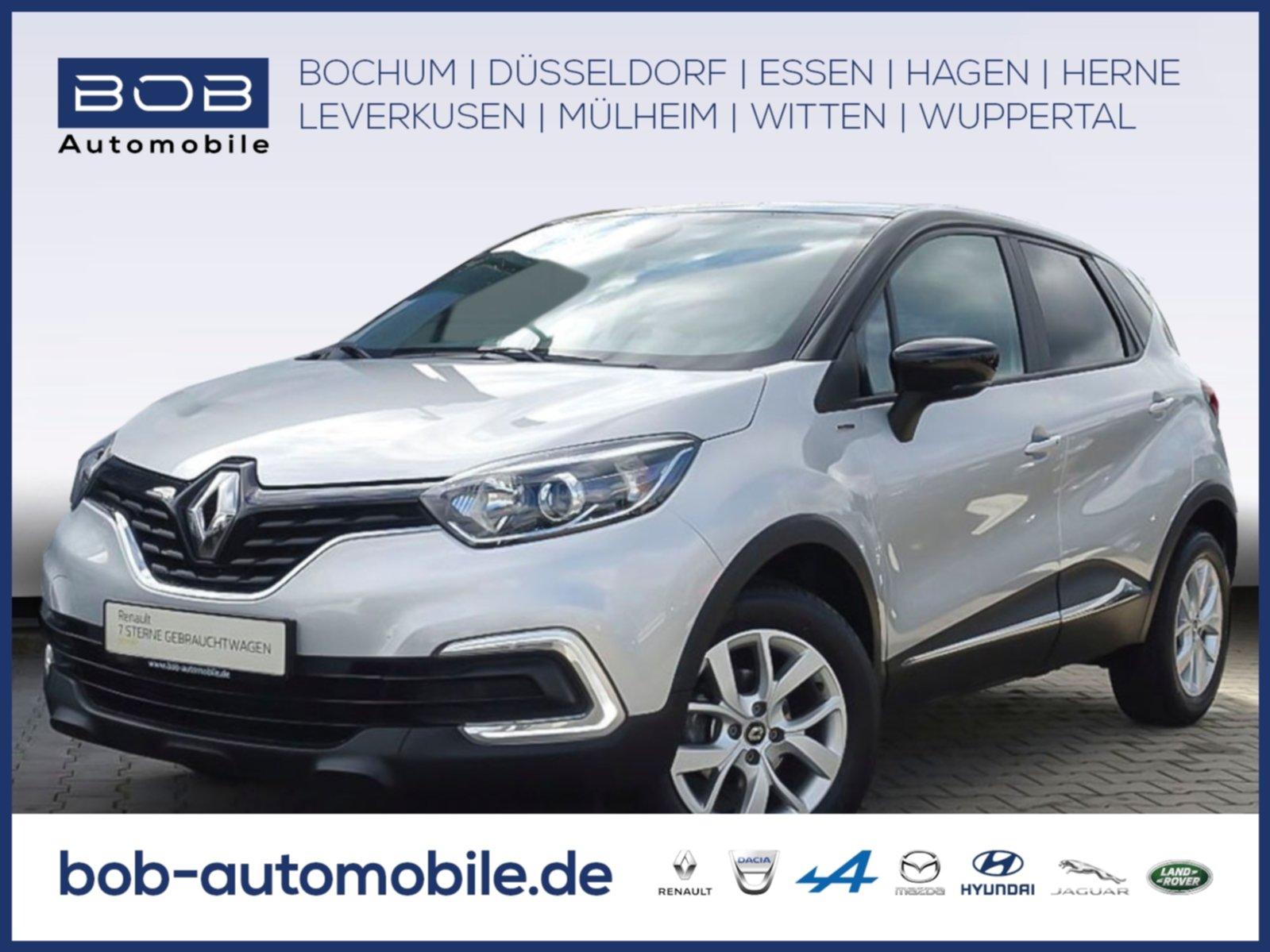 Renault Captur TCe 90 Limited SHZ NAVI PDC, Jahr 2019, Benzin