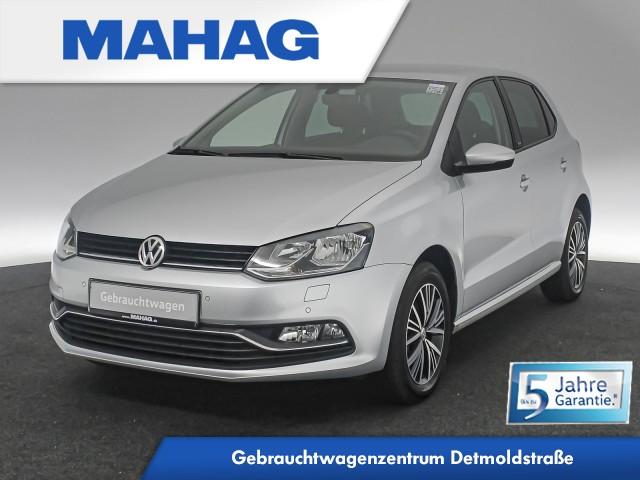 Volkswagen Polo 1.0 Allstar Klimaauto. Sitzhz. Tempomat 15Zoll 5-Gang, Jahr 2016, Benzin