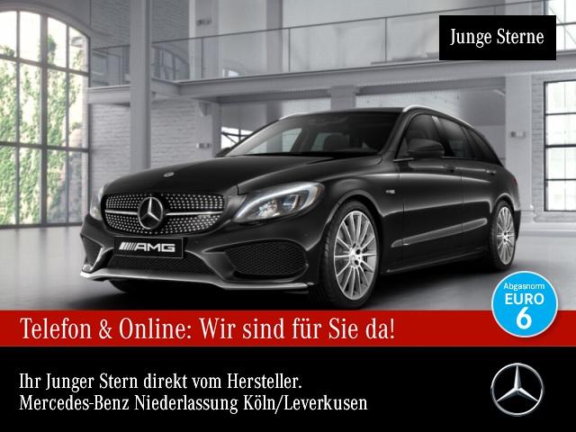 Mercedes-Benz C 43 4MATIC T-Modell Sportpaket Bluetooth Navi LED, Jahr 2017, Benzin