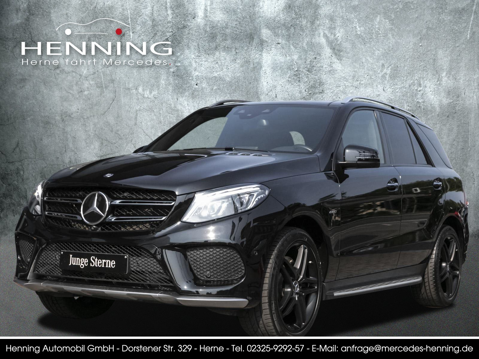Mercedes-Benz GLE 450 AMG 4M Pano Standhzg. Distronic Memory, Jahr 2016, Benzin
