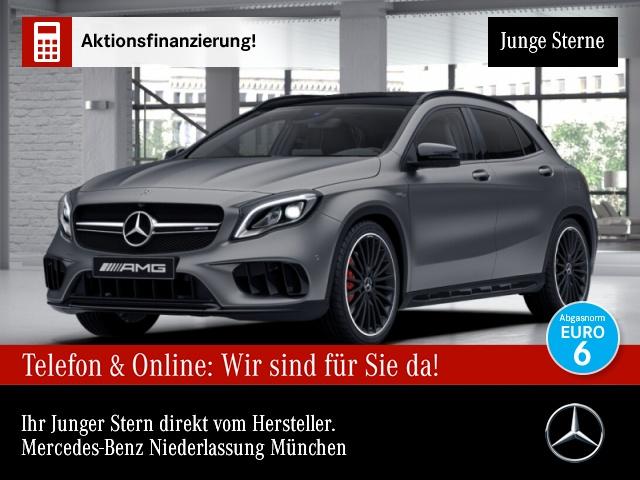 Mercedes-Benz GLA 45 AMG Pano perf. AbGas Night Dynamic NP83TE, Jahr 2017, Benzin
