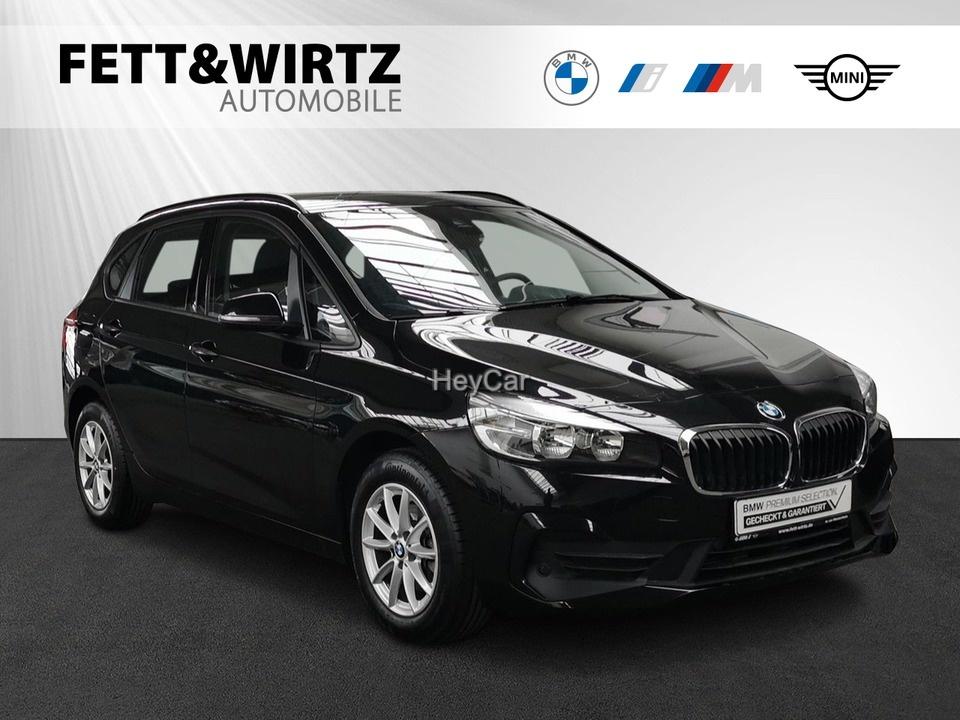 BMW 216 Active Tourer Adv. Aut. Navi Aut.Heckkl., Jahr 2019, Diesel