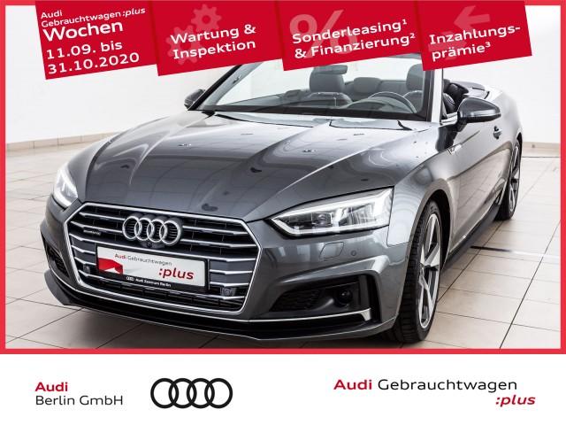 Audi A5 Cabriolet sport 3.0 TDI quattro S tronic, Jahr 2017, Diesel