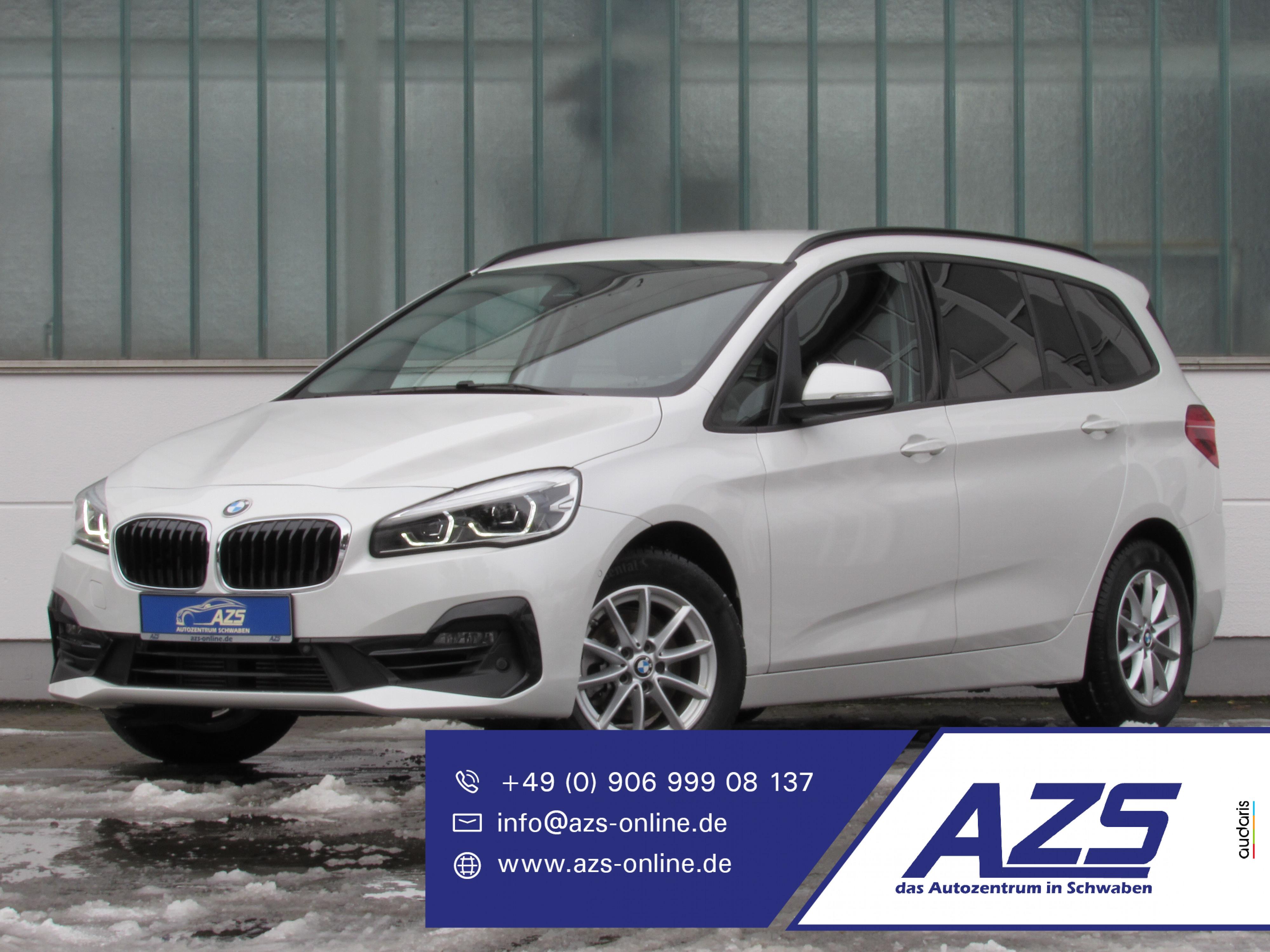 BMW 216i GranTourer Sport Line |sicherer Online-Kauf, Jahr 2019, Benzin
