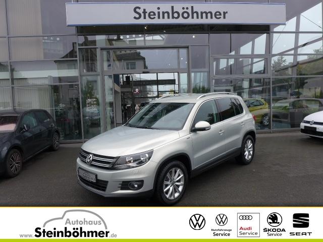 Volkswagen Tiguan LOUNGE 1.4TSI Sitzhz Navi MFLL ParkPilot, Jahr 2015, Benzin