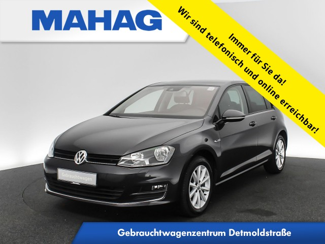 Volkswagen Golf VII 2.0 TDI Lounge Navi Kamera Sitzhz. ParkPilot LightAssist 16Zoll 6-Gang, Jahr 2015, Diesel