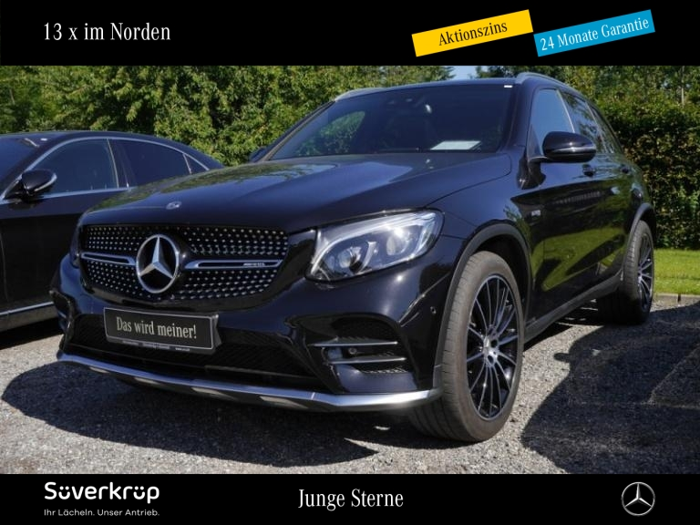 Mercedes-Benz GLC 43 AMG 4M Standheizung/Comand/Pano.-Dach/LED, Jahr 2017, Benzin