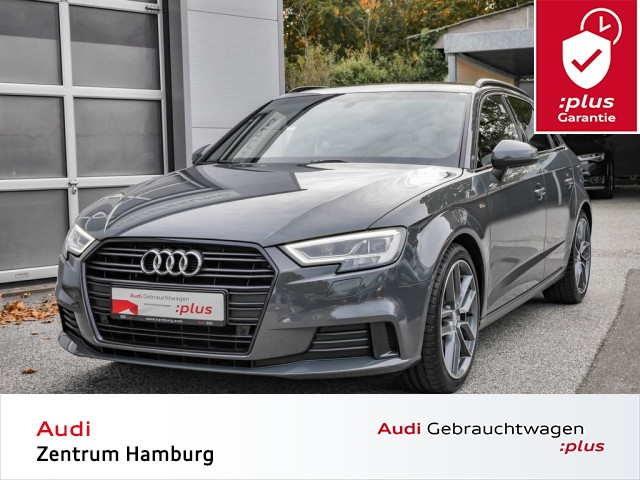 "Audi A3 Sportback sport 30 TFSI 6-Gang S LINE LED ALU 18"", Jahr 2019, petrol"