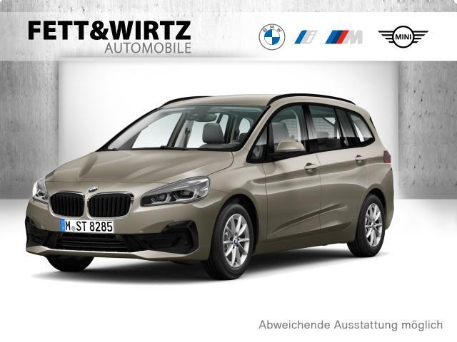 BMW 216 Gran Tourer Adv Navi LED PDC Aut.Heckkl SHZ, Jahr 2019, Benzin