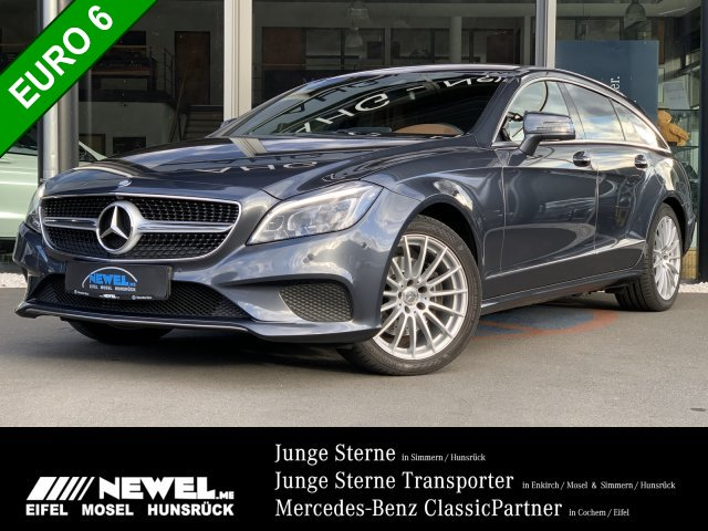 Mercedes-Benz CLS 250 BT 4M SB *LED*ILS*MEMORY*360°*LEDER*SHZ*, Jahr 2015, Diesel