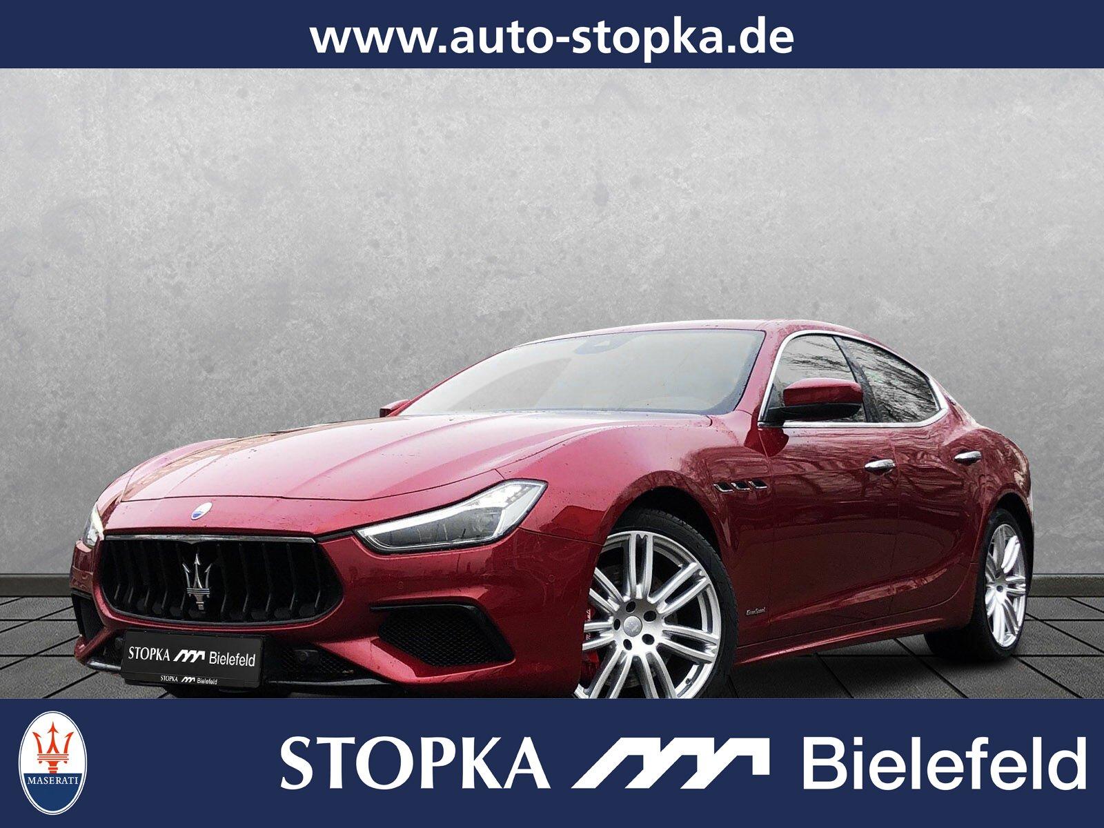 "Maserati Ghibli GranSport*20""*LED*SD*Kamera*Totwinkel, Jahr 2018, petrol"