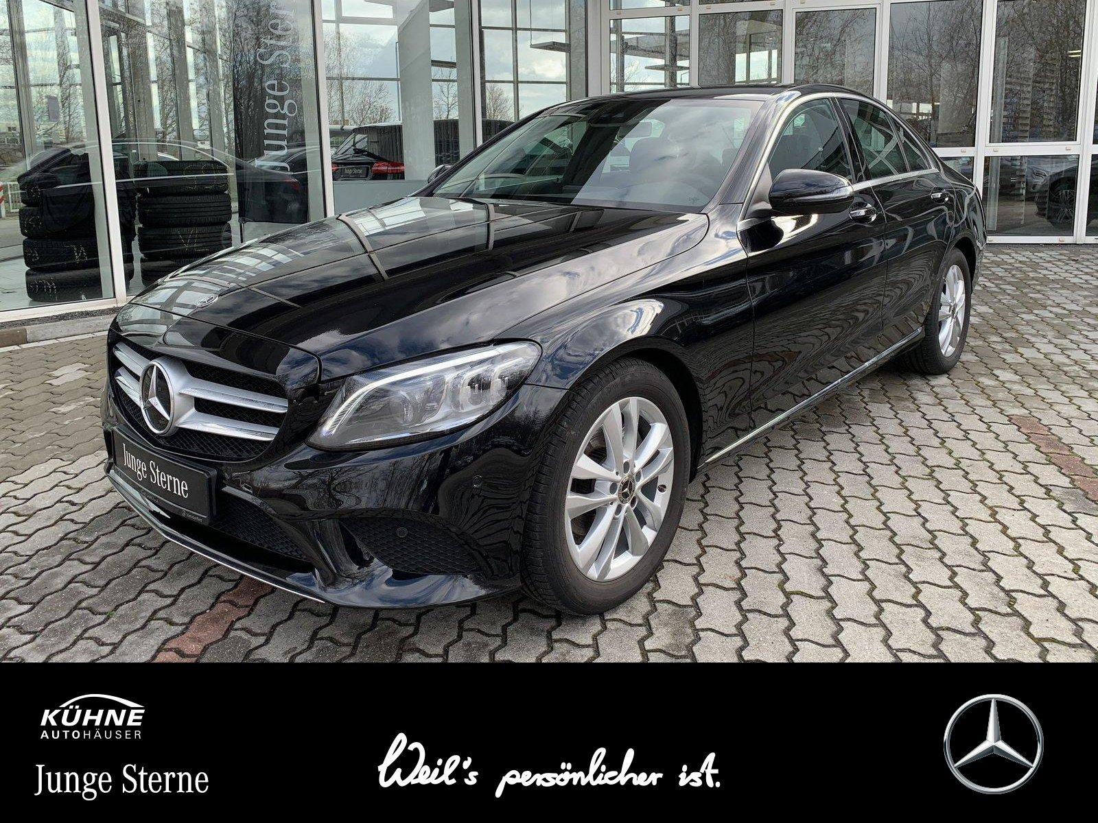 Mercedes-Benz C 180 Avantgarde 9G+BusinessPlus+Multibeam+High, Jahr 2019, Benzin