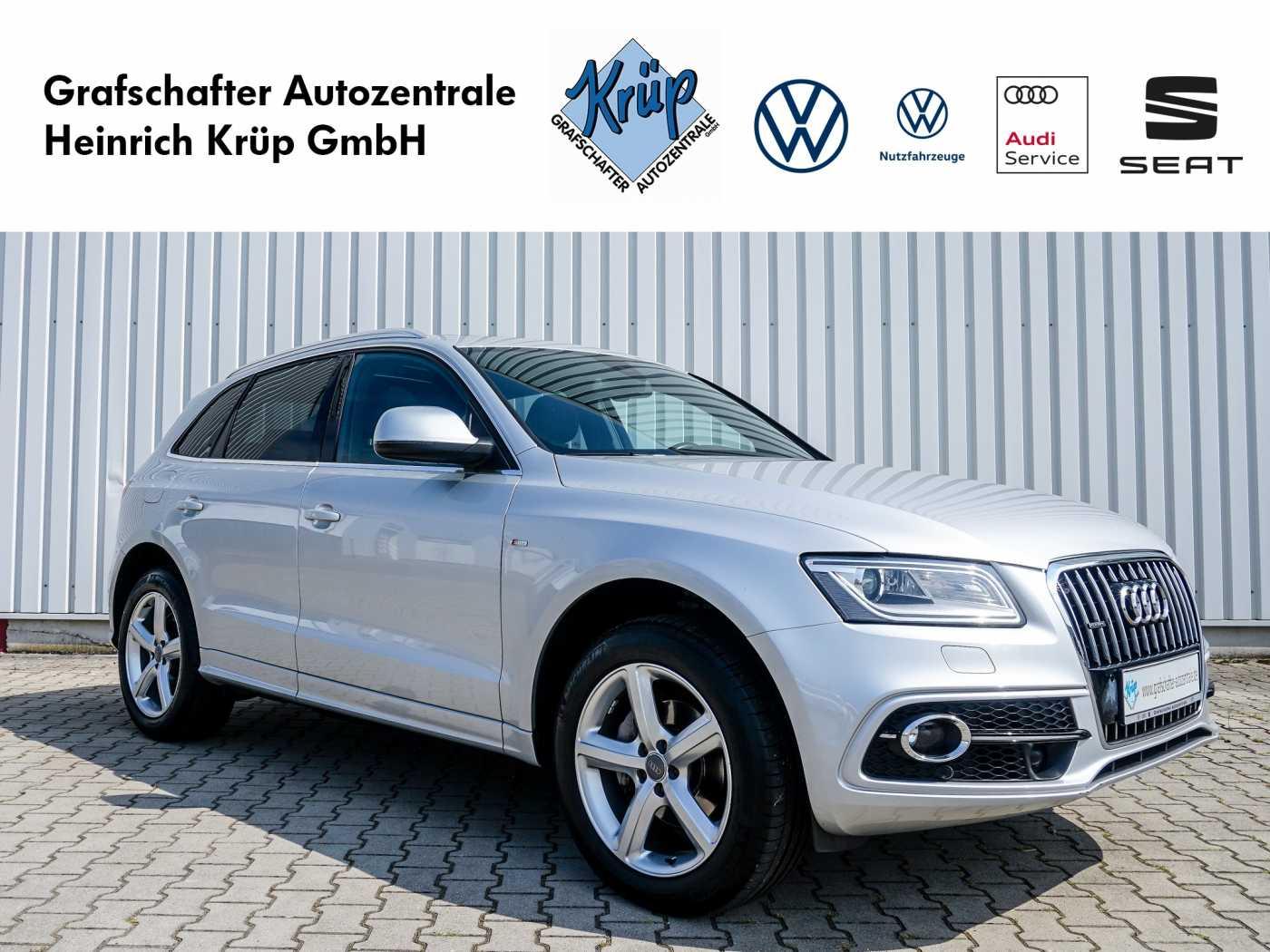 Audi Q5 2.0 TDI quattro S tronic *S Line*Pano*STHZ*, Jahr 2013, Diesel