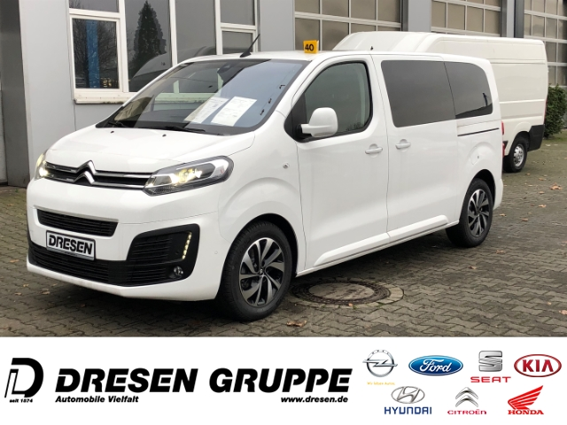 Citroën Spacetourer Shine M EU6d-Temp Kombi L2H1 Navi+HUD+Keyless+Xenon, Jahr 2020, Diesel