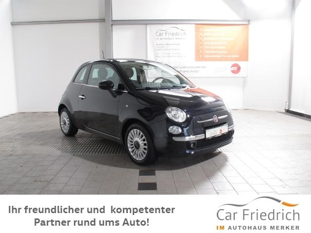 Fiat 500 1.2 Lounge Klima#Panoramadach, Jahr 2013, Benzin
