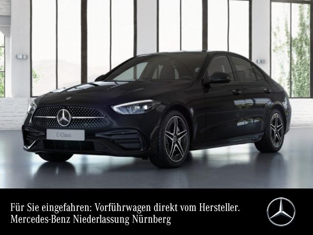 Mercedes-Benz C 200 4M AMG LED Night Kamera Spurhalt-Ass PTS 9G, Jahr 2021, Benzin