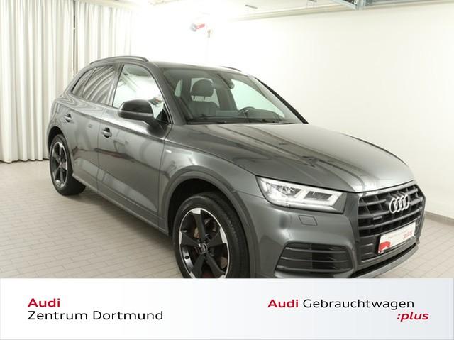 Audi Q5 2.0 TFSI qu. 2xS line/Black/Pano/Rotor/VC, Jahr 2018, Benzin