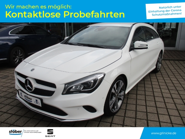 Mercedes-Benz CLA 200 Shooting Brake LED Navi Rückfahrkamera, Jahr 2018, Benzin