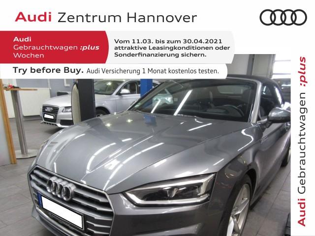 Audi A5 Cabriolet 3.0 TDI HuD virtual LED Komfortschlüssel, Jahr 2017, Diesel