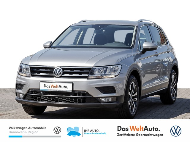 Volkswagen Tiguan 1.5 TSI United AHK Navi APP SHZ PDC, Jahr 2020, Benzin