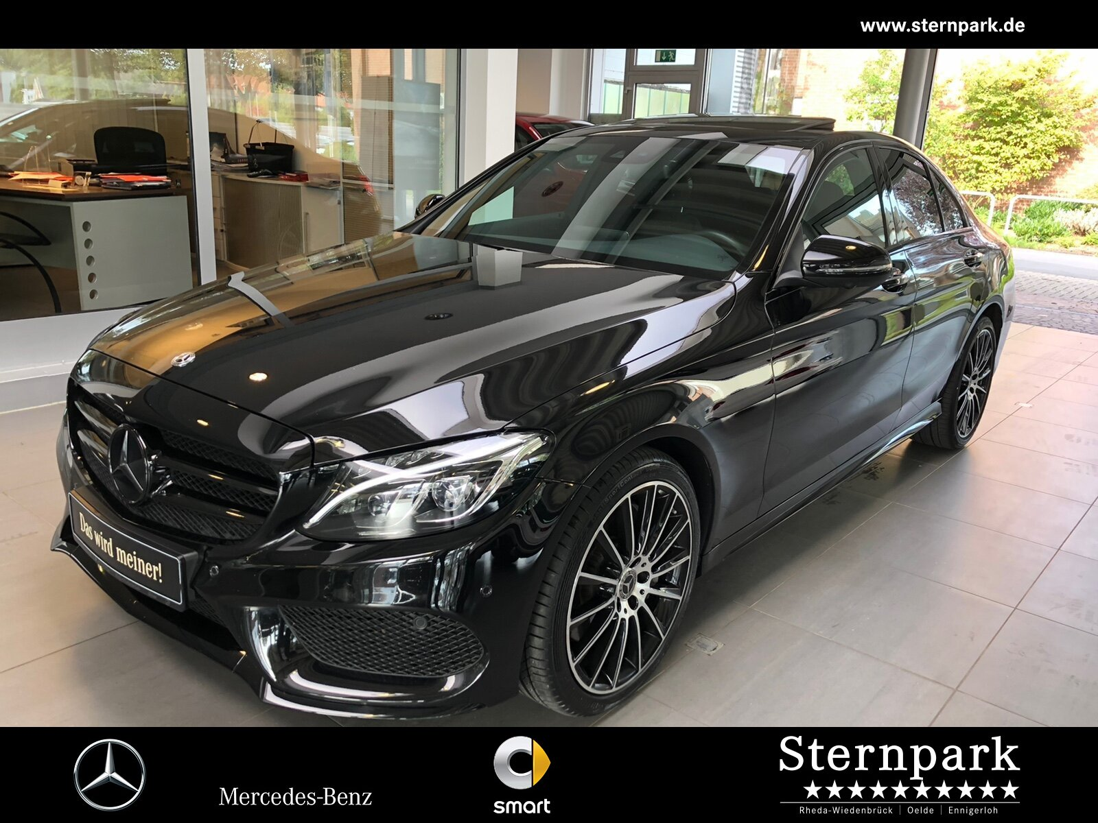 Mercedes-Benz C 400 4M AMG Comand*GSD*360°Kamera*MULTIBEAM BC, Jahr 2018, Benzin