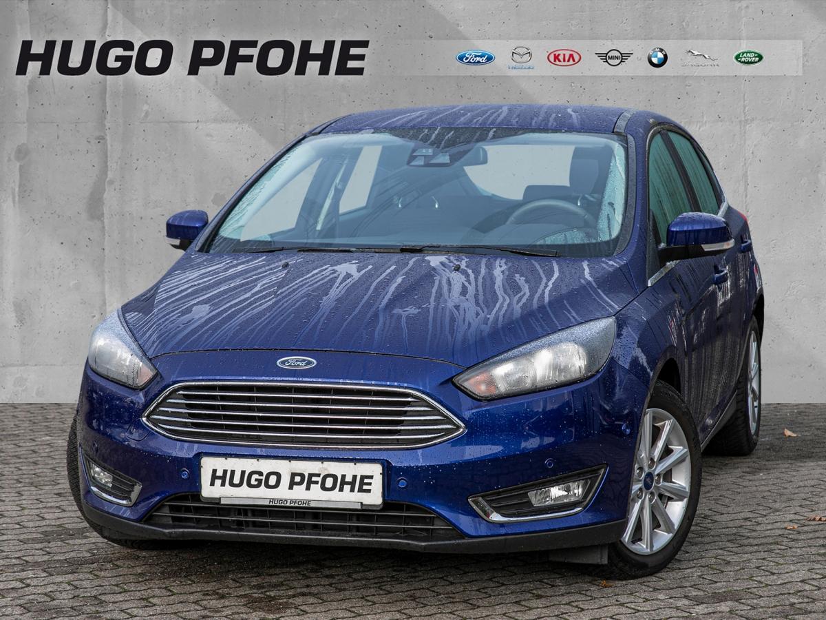 Ford Focus Titanium 1.0, Jahr 2016, Benzin