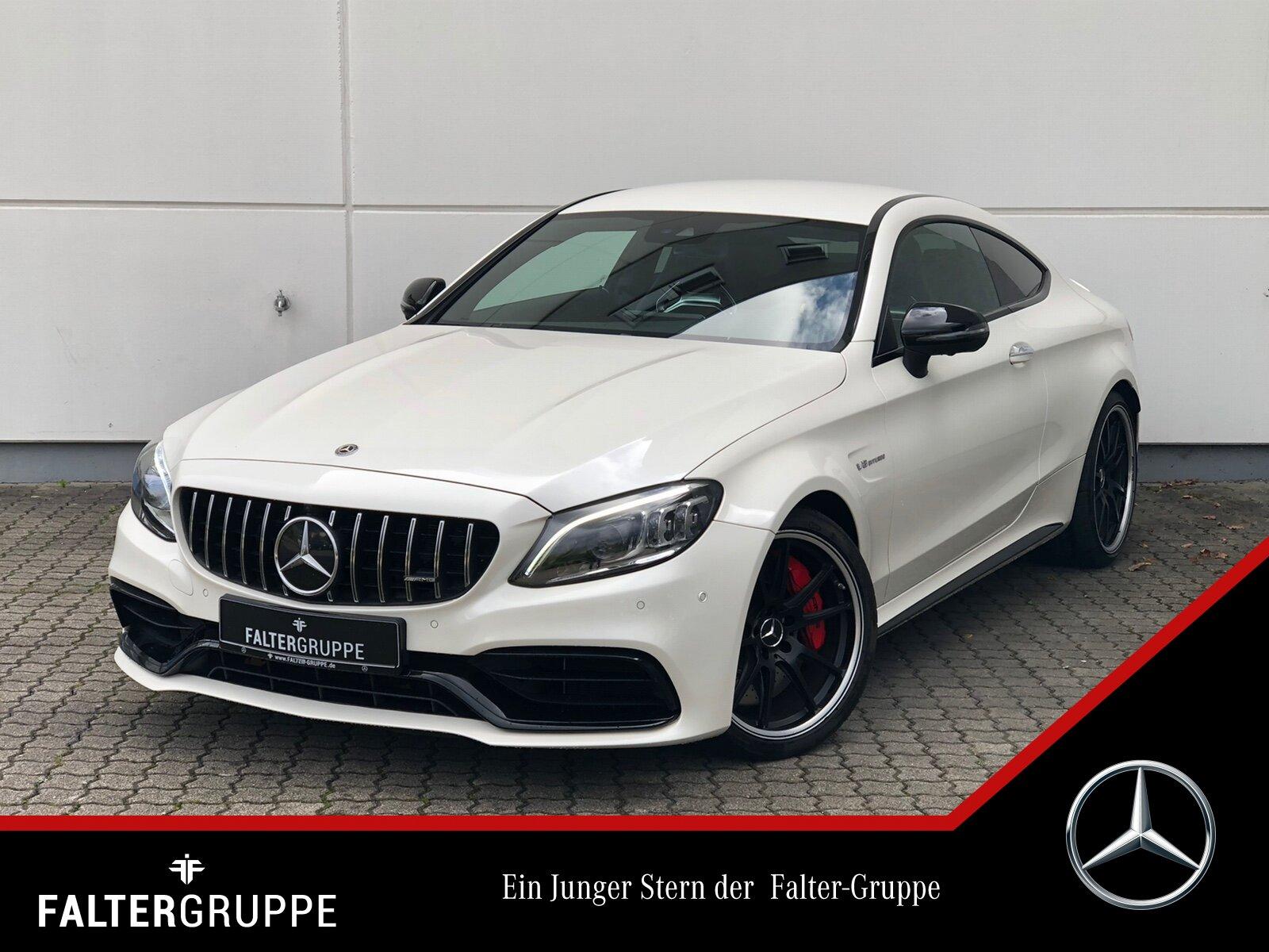 Mercedes-Benz C 63 S Coupé Night Perf.Sitze+AGA 360°Burme MLED, Jahr 2019, Benzin