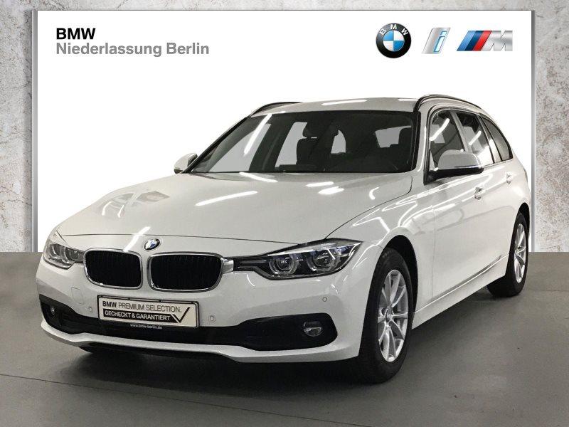 BMW 318d Touring EU6d-Temp Aut. LED NaviProf. Alarm, Jahr 2019, Diesel