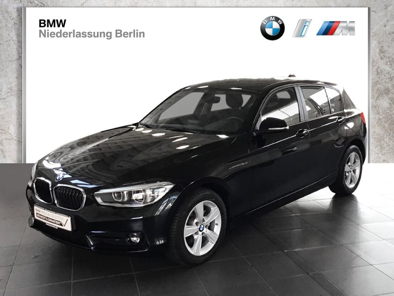 BMW 116d 5-Türer EU6 Aut. Sport Line LED Glasdach, Jahr 2017, Diesel