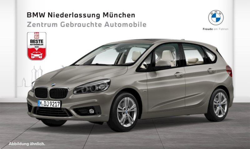 BMW 225i Active Tourer Sport Line LED Pano.Dach RFK, Jahr 2017, Benzin