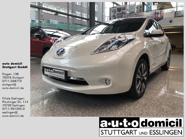 Nissan Leaf Tekna (mit Miet-Batterie 30 kWh), Jahr 2017, Elektro