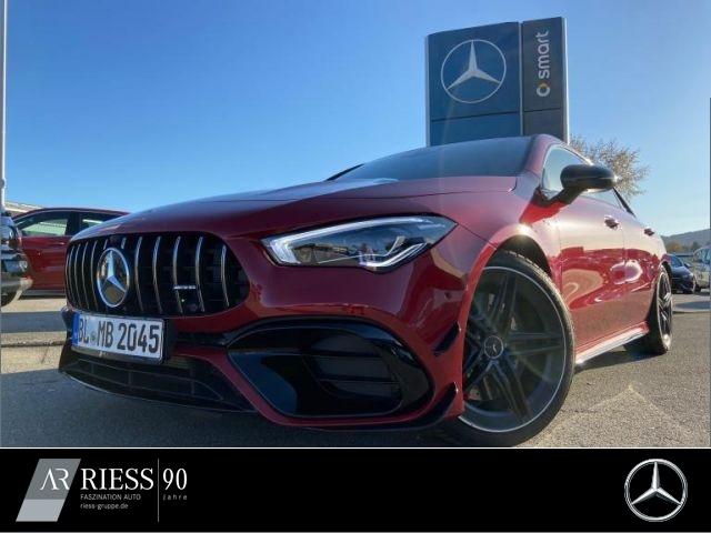 Mercedes-Benz CLA 45 S Coupé NIGHT+PANO+DRIVERP+MULTIBEAAM, Jahr 2020, Benzin