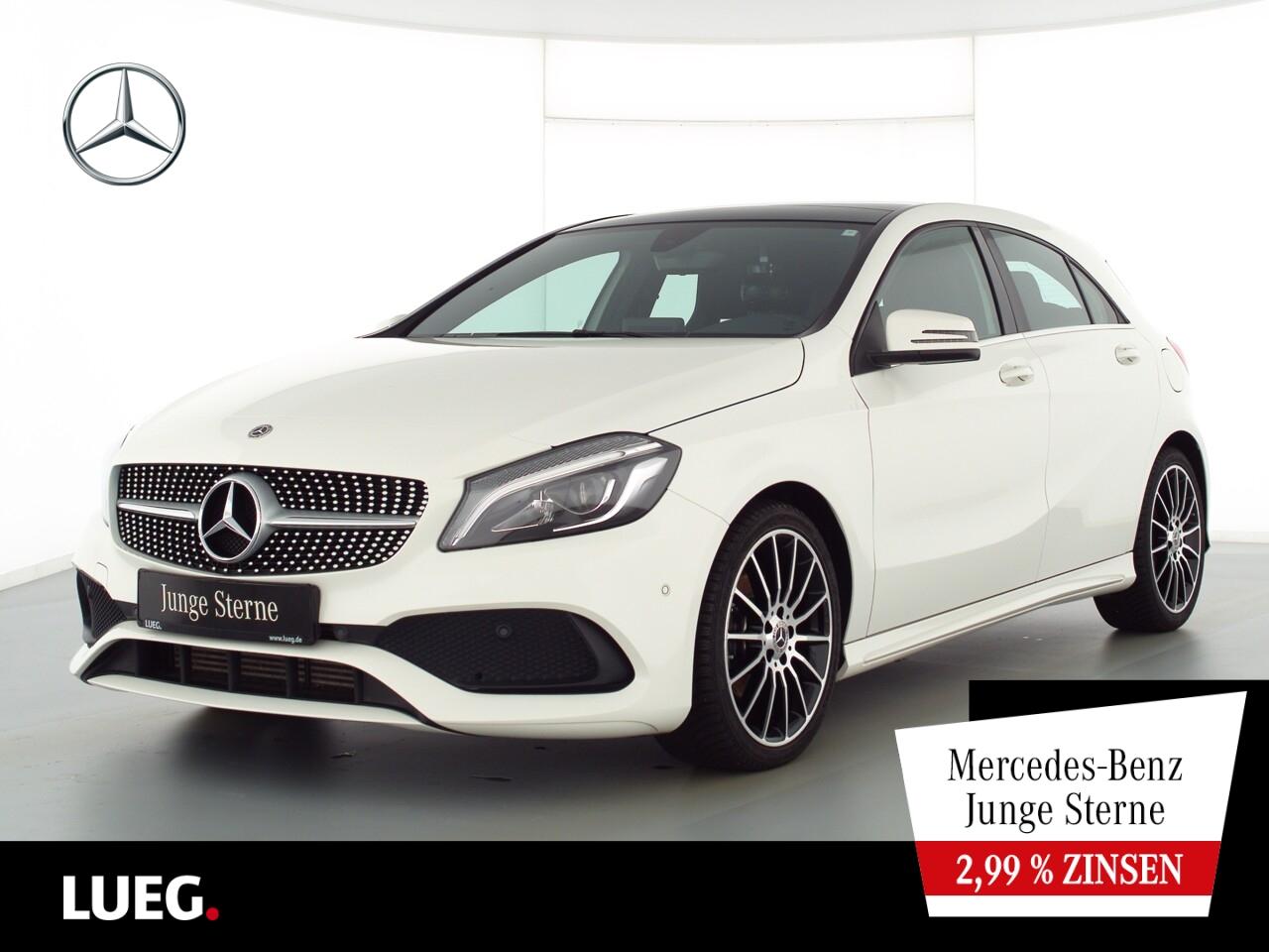 Mercedes-Benz A 200 AMG+Navi+Pano+LED-HP+PEAKEdition+ParkPilot, Jahr 2017, Benzin