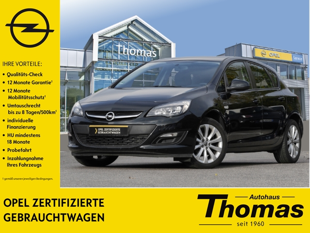 Opel Astra J Active 1.4 Turbo Winter-Paket PDC AAC, Jahr 2013, petrol