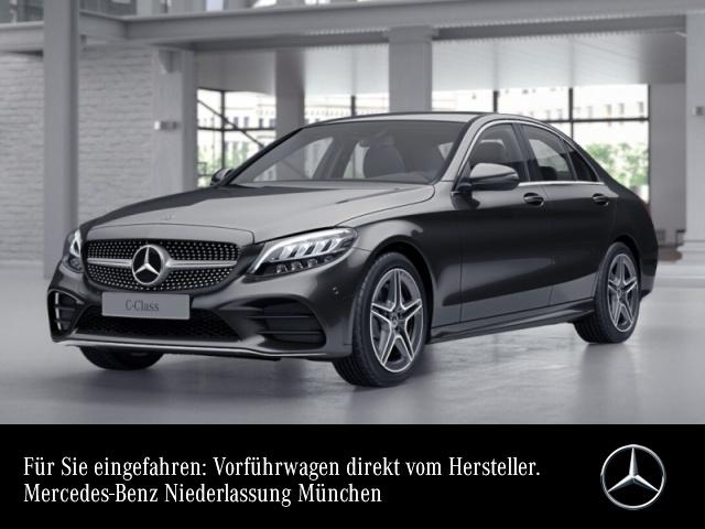 Mercedes-Benz C 200 AMG+LED+Kamera+Spur+Totw+Keyless+9G, Jahr 2021, Benzin