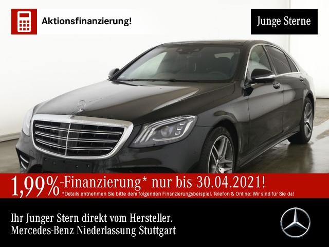 Mercedes-Benz S 450 L 4M AMG Nachtsicht 360° Pano Multibeam HUD, Jahr 2020, Benzin