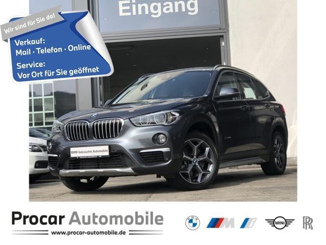 BMW X1 xDrive20i Navi+ HuD LED AHK RFK HiFi DA Shz, Jahr 2018, Benzin