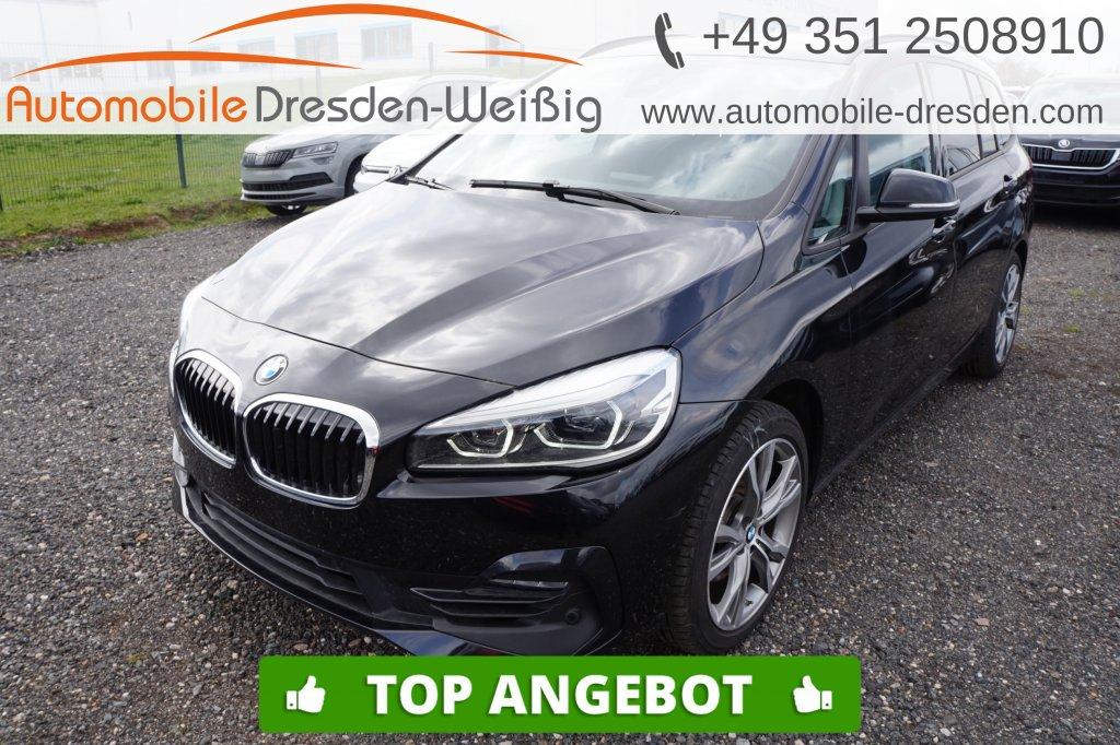 BMW 216 Gran Tourer i Sport Line*Navi*UPE 41.800€, Jahr 2019, Benzin