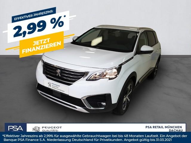 Peugeot 5008 PureTech 130 Allure Rückfahrkamera PDC vo. u. hi., Jahr 2018, Benzin