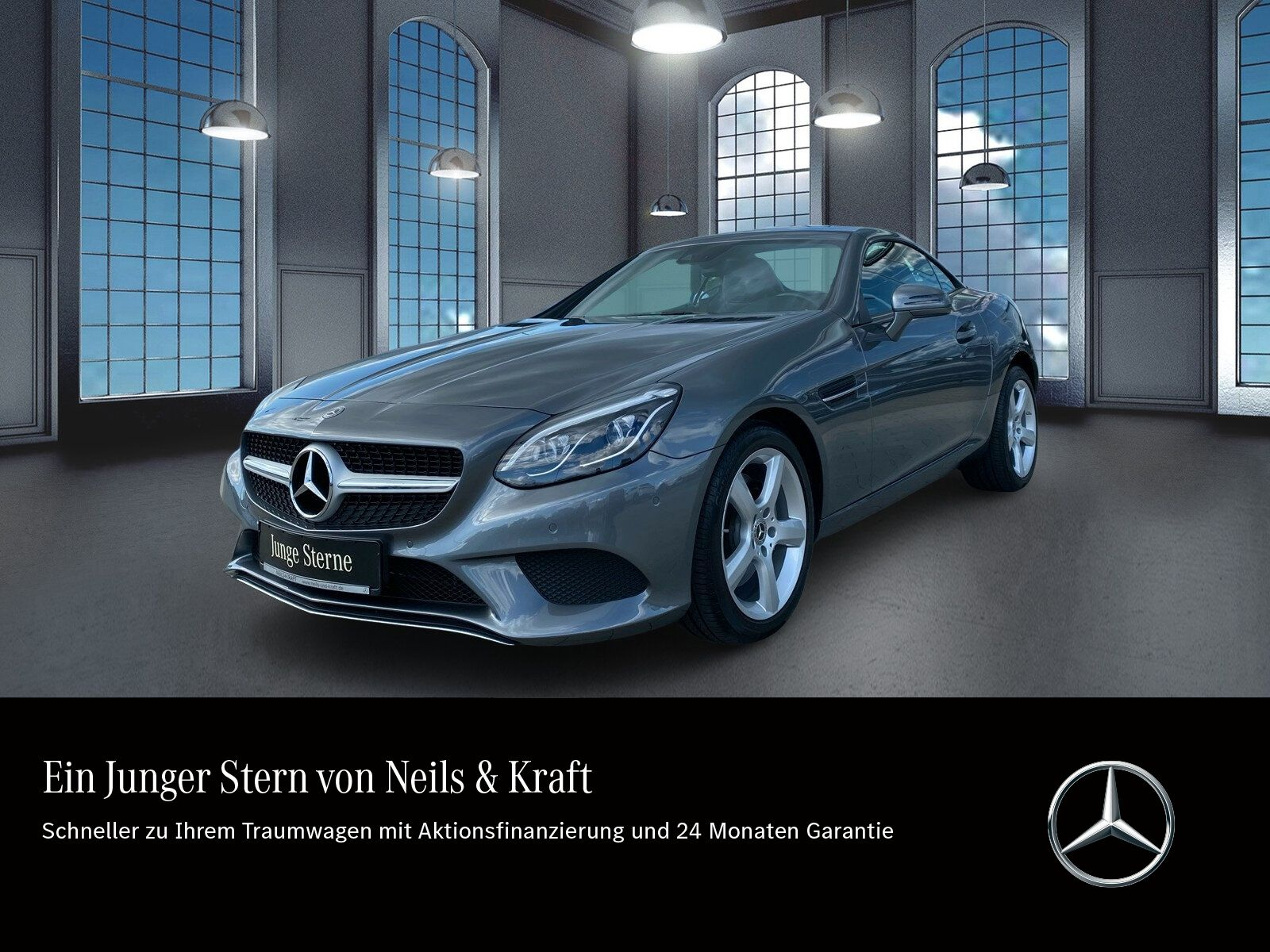 Mercedes-Benz SLC 200 CARPLAY+COMAND+LED ILS+FERNL ASS+KAMERA+, Jahr 2020, Benzin