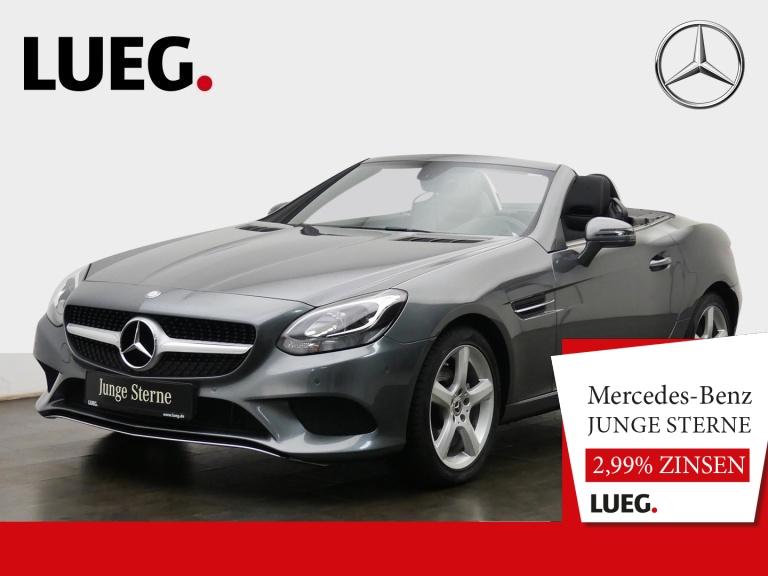 Mercedes-Benz SLC 180 Navi+Leder+Pano+AIRSCARF+SHZ+Totw+Kamera, Jahr 2017, Benzin