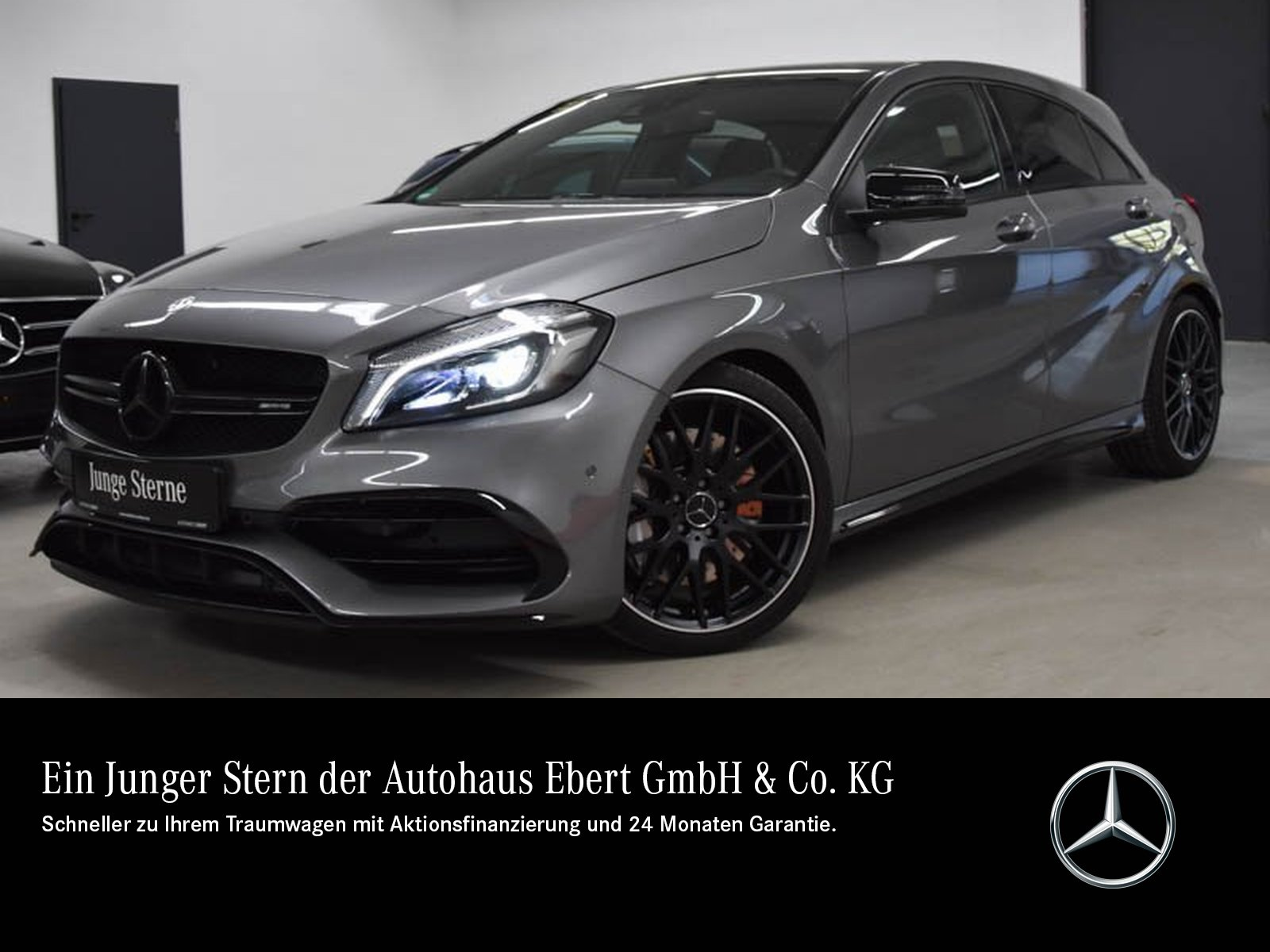 Mercedes-Benz A 45 AMG 4M COMAND+PSD+LED+RFK+NIGHT+PERF. SITZE, Jahr 2018, Benzin